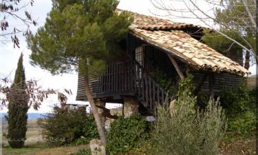 Casa rural La Cabaña en Fuentes a 18Km. de Palomera