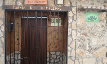 Casa Rural Fuente del Gamellon en Buenache de La Sierra a 35Km. de Valdemoro-Sierra