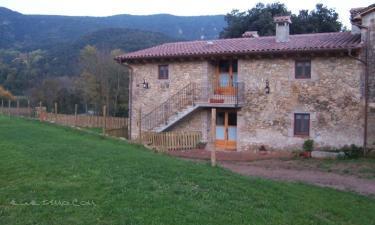 Casa Rural Ca l'Arnau en Girona a 11Km. de Aiguaviva