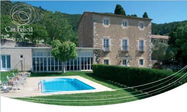 Casa Rural Can Felicià en Beuda (Gerona)