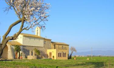 Ermita de Santa Llúcia en Garrigàs (Gerona)