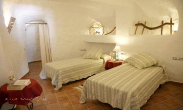 Casas Cueva El Mirador de Galera en Galera (Granada)