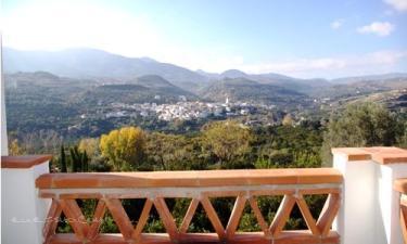 Casa rural Los Naranjos en Melegis (Granada)