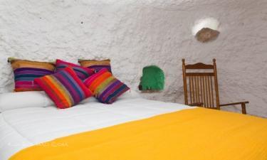 Balcones de Piedad Cueva Pita en Guadix (Granada)