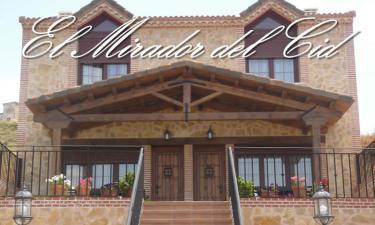 Casa Rural El Mirador del Cid en Jadraque a 24Km. de Cogolludo
