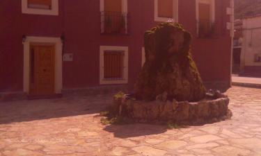 Casa Rural La Plaza en Moratilla de Los Meleros a 29Km. de Romancos