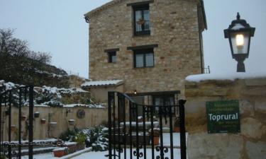 Casa Rural Las Tainas de Carabias en Sigüenza a 6Km. de Pozancos
