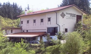 Casa Rural Txindurri Iturri en Deba (Guipúzcoa)
