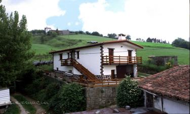 Casa Rural Agerresoro Haundi en Aia a 12Km. de Zizurkil