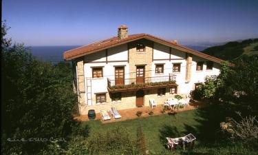 Casa Rural Itsas Lore en Getaria (Guipúzcoa)