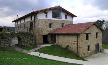Casa Rural Mañarinegi en Aia (Guipúzcoa)