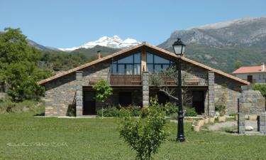 Casa Rural Casas La Ribera. en Escalona (Huesca)