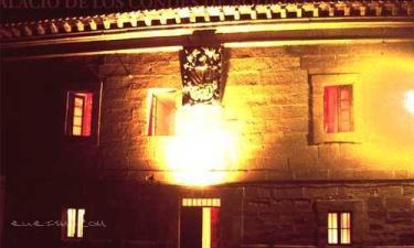 Palacio de los Condes de Rodezno en Ollauri a 23Km. de Mijancas