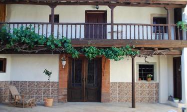 Casa Los Polvazares en Castrillo de los Polvazares (León)