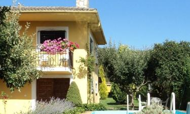 La Casa Amarilla en Pardavé (León)