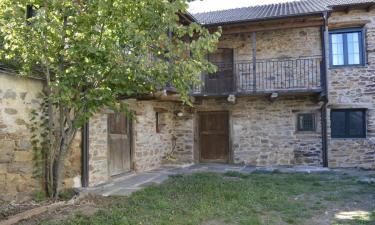 La casa de Rosa en Filiel a 13Km. de Luyego de Somoza