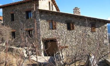 Casa Rural Ca lEscolà en Aranser a 47Km. de Tor