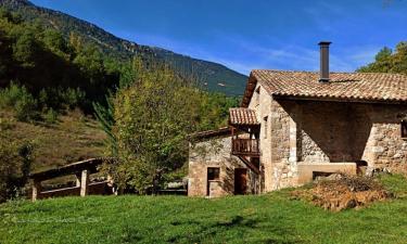 Molí de Dalt en La Coma i La Pedra (Lleida)