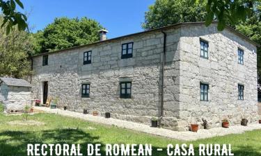 Albergue Rectoral de Romeán en Romeán (Lugo)