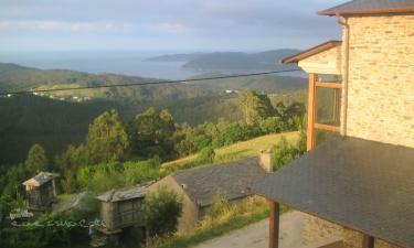 El Pico de Castrobó. ( Mirador del Cantábrico ) en Viveiro (Lugo)