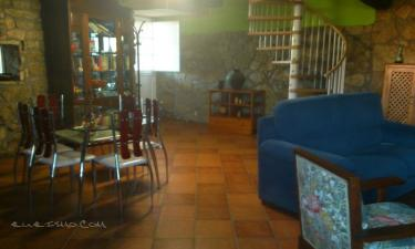Casa rústica en Ribeira Sacra en Monforte de Lemos a 49Km. de Puebla de Trives