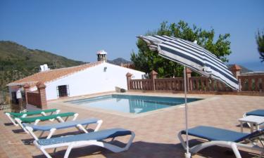 Casa Rosa en Frigiliana a 15Km. de Canillas de Albaida