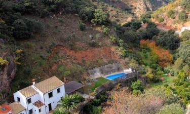 Casa rural El Molinillo en Jimera de Líbar a 11Km. de Cortes de la Frontera