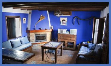 La Casa Azul en Triana a 7Km. de Viñuela