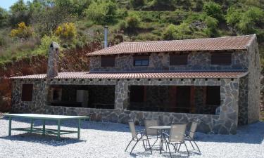 Casa Rural La Cabaña de Piedra en El Borge a 8Km. de Macharaviaya
