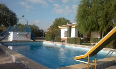 Villa Rocio, la cabaña en Antequera a 20Km. de Villanueva de Cauche