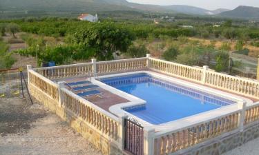 Casa Rural Casa Olivos en Moratalla a 19Km. de Benizar