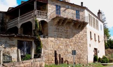 Casa Rural Pazo Dos Ulloa en Ribadavia a 40Km. de San Cibrao das Viñas