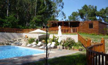 Cabana Os Troncos. en Moledo (Pontevedra)