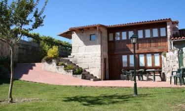 Casa O Rozo en Tui a 11Km. de Taborda