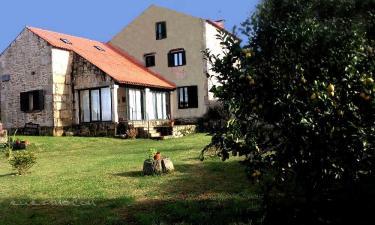 A Casa Dos Cancelos en Carril (Pontevedra)