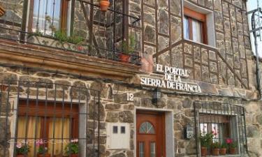 Casa Rural El Portal de la Sierra de Francia en San Miguel de Valero a 37Km. de Berrocal de Salvatierra