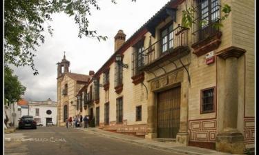 Palacio de San Benito en Cazalla de la Sierra a 11Km. de Fábrica del Pedroso