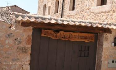 Casa Tío Prudencio en Morcuera a 17Km. de Fuentecambrón