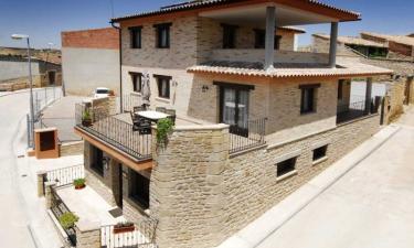 Apartamentos de Turismo Rural Las Eras en Castelserás a 46Km. de Dos Torres de Mercader