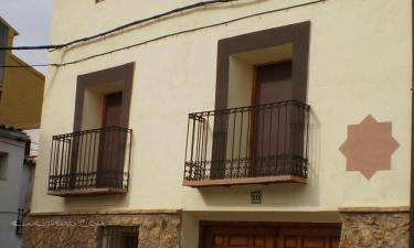 Casa Rural Estrella Mudéjar en Caude a 29Km. de Santa Eulalia