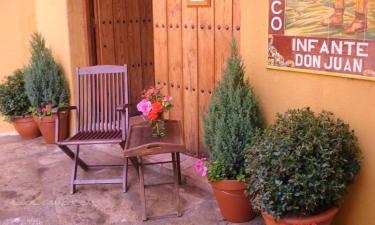Casa Rural Infante Don Juan en Oropesa a 32Km. de Aldeanueva de Barbarroya