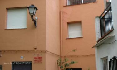 Casa Rural Cofrentes en Cofrentes (Valencia)