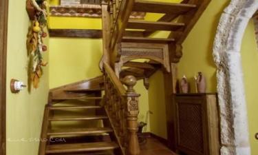 Escalera  Casa de los Beatos. Villa de Urueña