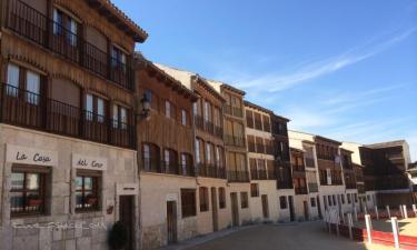 La Casa del Coso en Peñafiel a 20Km. de Laguna de Contreras