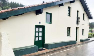 La casa de Arantza en Ispaster (Vizcaya)