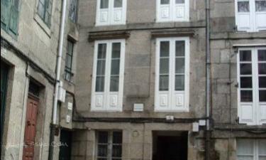 Hostal Fogar Teodomiro en Santiago de Compostela a 19Km. de Trazo