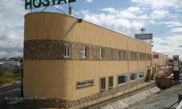 Hostal restaurante Kavanna en San Pedro de Mérida a 19Km. de Don Álvaro