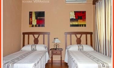 Hostería Verahouse en Jaraiz de la Vera a 13Km. de Aldeanueva de la Vera