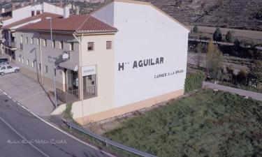 Hostal Aguilar en Forcall a 35Km. de Cantavieja