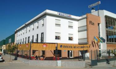Hostal Restaurante Hnos. Zamora en Palma del Río a 13Km. de Peñaflor